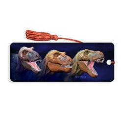 Boeken legger Tyrannosaurus rex