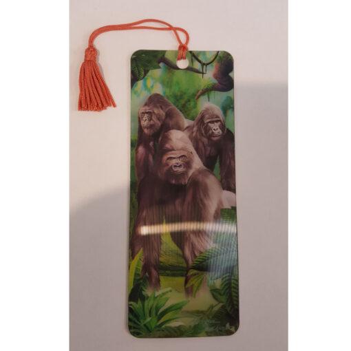 Boeken legger gorilla