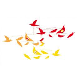 De vogels in harmonie