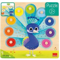 Goula pauw puzzel