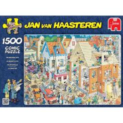 Jan van Haasteren de bouwplaats