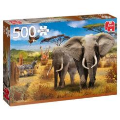Jumbo Afrikaanse savanne 500