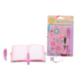 Meiden geheim dagboek met slot en pen