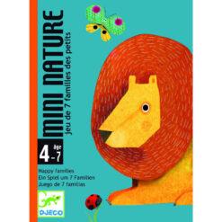 Mini nature kwartetspel