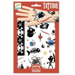 Piraat tattoos
