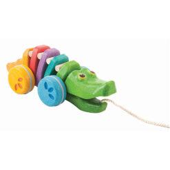 Plantoys Krokodil Rainbow