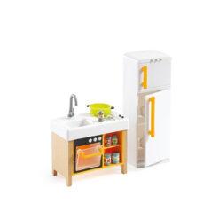Poppenhuis de kleine keuken