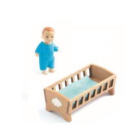 Poppenhuis pop baby Sacha
