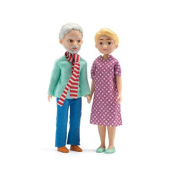 Poppenhuis poppen Oma en Opa