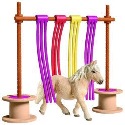 Schleich Pony obstakel gordijn