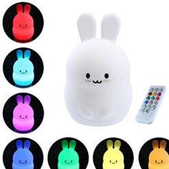 Siliconen nachtlampje konijn