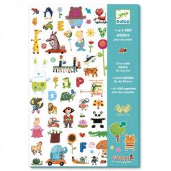 duizend stickers voor kleintjes