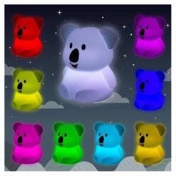 oplaadbare nachtlamp Koala