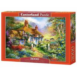 puzzle castorland forest cottage 3000 pcs