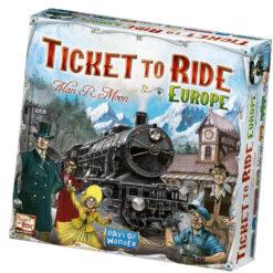 ticket to ride europe English version