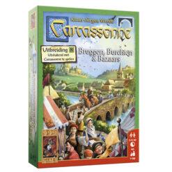 Carcassonne bruggen, burchten en Bazaars