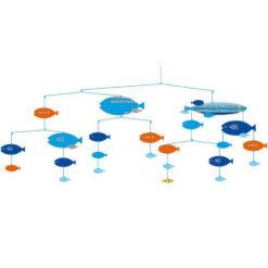 De vissen in harmonie