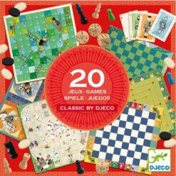 Djeco 20 klassieke spellen