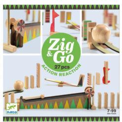 Knikkerbaan Zig & Go 27 pcs