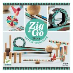Knikkerbaan Zig & Go 28 pcs