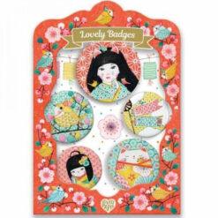 Lovely Badges Japon