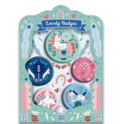 Lovely Badges Paarden