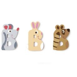 Scratch letter B