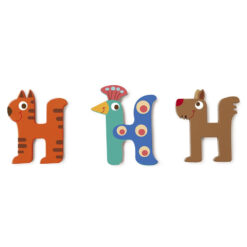 Scratch letter H