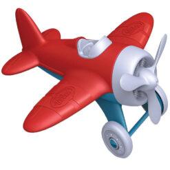 greentoys rood vliegtuig
