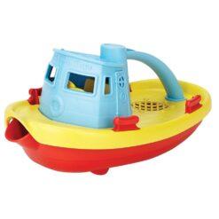 greentoys sleepboot blauw