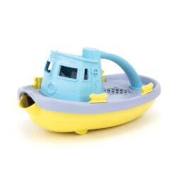 greentoys sleepboot licht geel