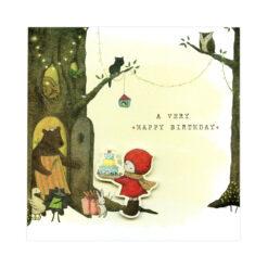 kaart a very happy birthday