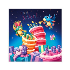 kaart happy birthday!