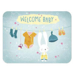 kaart welcome baby