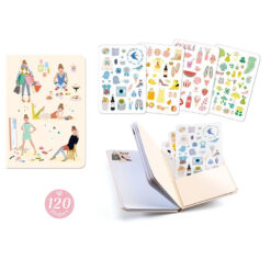 notitieboek met stickers Tinou