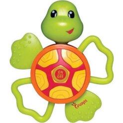 schildpad bijtring met geluid
