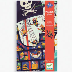 vloerpuzzel de piratenboot