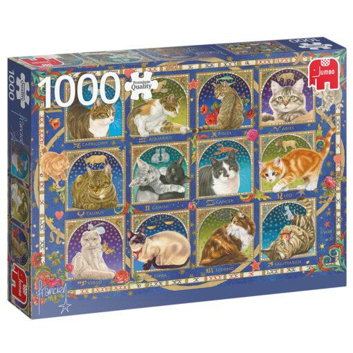 Jumbo 1000 katten puzzel