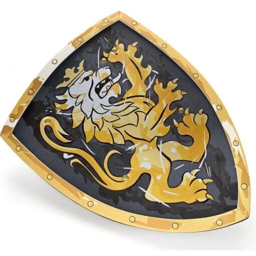 edele ridder schild zwart