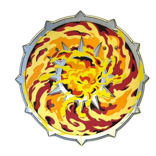 vlammen schild