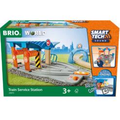 Brio train service station