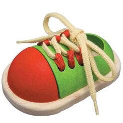 Plantoys tie up shoe