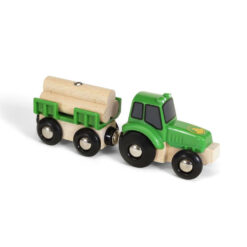 Tractor met lading