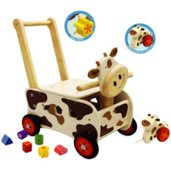 deluxe walk en ride cow