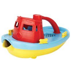 greentoys sleepboot rood