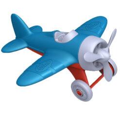 greentoys vliegtuig blauw