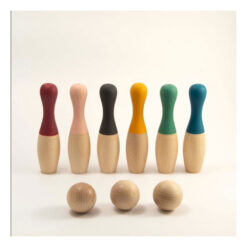 houten bowling set