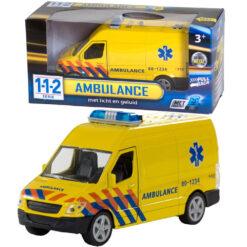 112 Ambulance met licht en geluid 1:43