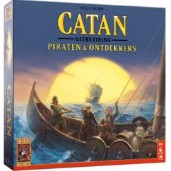 Catan piraten en ontdekkers uitbreiding 5-6