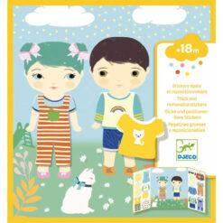 Djeco stickerboek kleding